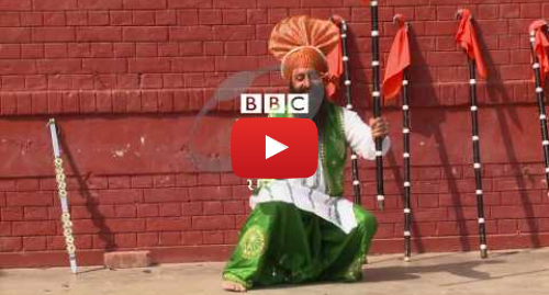 Youtube post by BBC News Punjabi: India's first disability Bhangra team