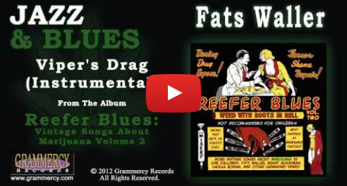Youtube post by Grammercy Records: Fats Waller - Viper's Drag (Instrumental)