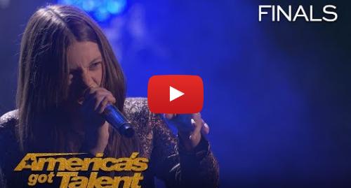 "Youtube post by America's Got Talent: Courtney Hadwin  Sensational Singer Rocks ""River Deep Mountain High"" - America's Got Talent 2018"