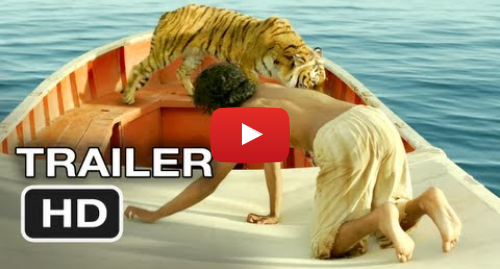 Youtube пост, автор: Movieclips Trailers: Life of Pi Official Trailer #1 (2012) Ang Lee Movie HD