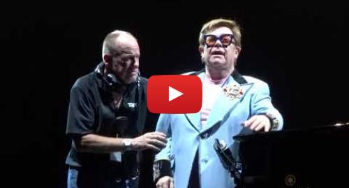 Youtube post by midiman nz: Elton John Auckland Concert - The Finish