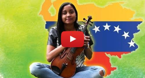 Publicación de Youtube por BBC News Mundo: De la orquesta sinfónica en Venezuela a tocar en la calle en Bogotá