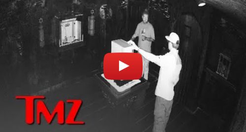 Youtube post by TMZ: Video of Post Malone Messing with World's Most Haunted Object, Signs of a Curse   TMZ