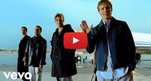 Youtube post by BackstreetBoysVEVO: Backstreet Boys - I Want It That Way