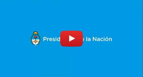 Publicación de Youtube por Casa Rosada - República Argentina: Palabras del presidente Mauricio Macri en visita a vecinos