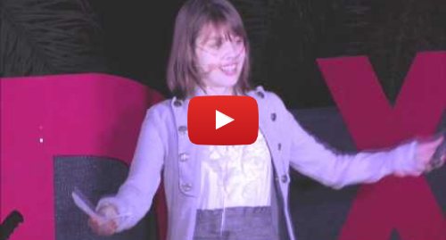 Youtube post by TEDx Talks: TEDxLaJolla - Claire Wineland - It's Just a Disease