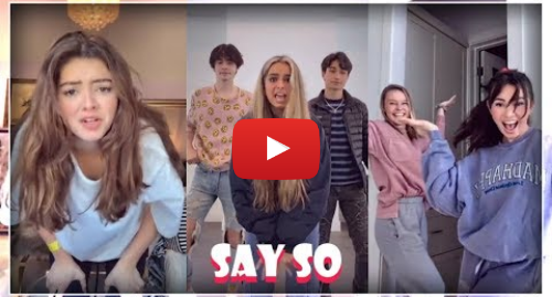 Youtube post by Best TikTok Compilations: New Say So Challenge Tiktok Compilation 2019