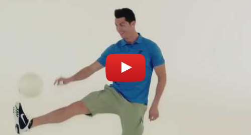 Youtube post by jason cabannes: Cristiano Ronaldo Japanese Commercial   FACIAL FITNESS PAO device   CR7 TV AD 2014   Face Exercise