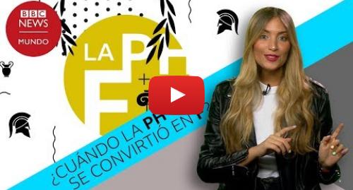 YouTube post de BBC News Mundo: Cuando la Ph y la F convivían en español