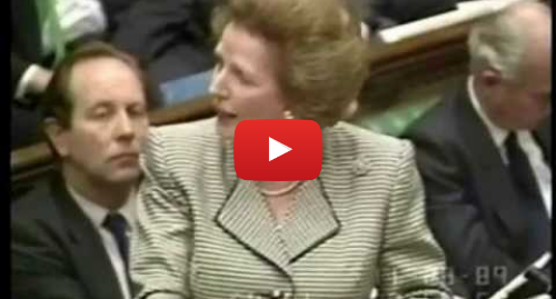 Youtube post by thatcheritescot: First Ever Televised Prime Ministers Questions