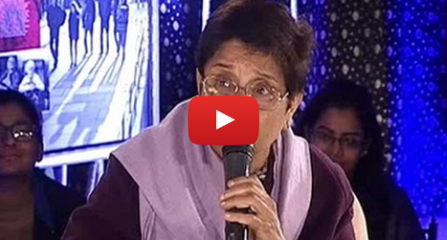 Youtube post by NDTV: Who towed Indira's car? What Kiran Bedi said to NDTV