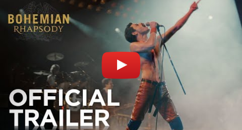 Youtube post by 20th Century Fox: Bohemian Rhapsody | Teaser Trailer [HD] | 20th Century FOX