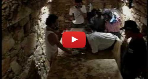 Publicación de Youtube por Jawar TresCeros: Reina Roja Palenque 3d3 descubrimiento tumba
