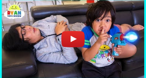 Youtube 用户名 Ryan ToysReview: DON'T WAKE DADDY IRL CHALLENGE with Ryan!!!!