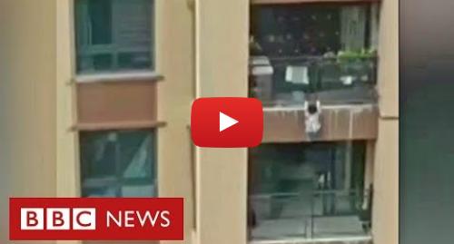 YouTube post de BBC News Brasil: Criança de três anos sobrevive a queda de seis andares