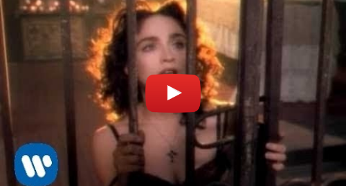 Youtube post by Warner Bros. Records: Madonna - Like A Prayer (Official Music Video)