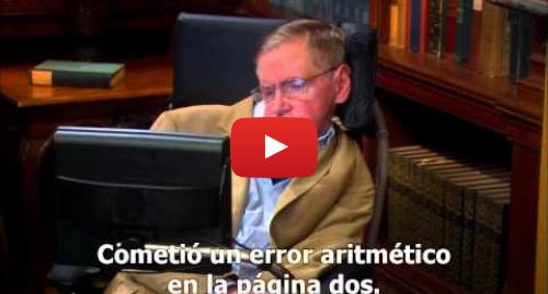 Publicación de Youtube por amosin9: The Big Bang Theory   Sheldon Cooper   Stephen Hawking   HD