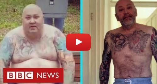 YouTube post de BBC News Brasil: Homem recusa cirurgia bariátrica e perde 89 kg em dois anos