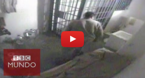 "Publicación de Youtube por BBC News Mundo: Momento de la fuga de Joaquín ""El Chapo"" Guzmán"