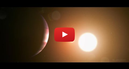 Youtube post by NASA Goddard: TESS Satellite Discovered Its 1st World Orbiting 2 Stars