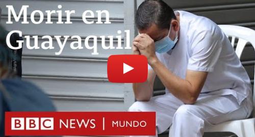 Publicación de Youtube por BBC News Mundo: Coronavirus en Ecuador  el drama de Guayaquil con más muertos por covid-19 que países enteros