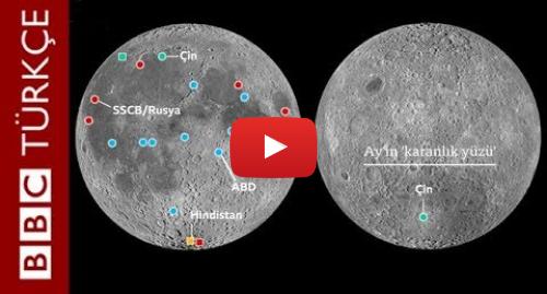 BBC News Türkçe tarafından yapılan Youtube paylaşımı: Çin Ay'ın karanlık yüzüne indi  İlk görüntüler