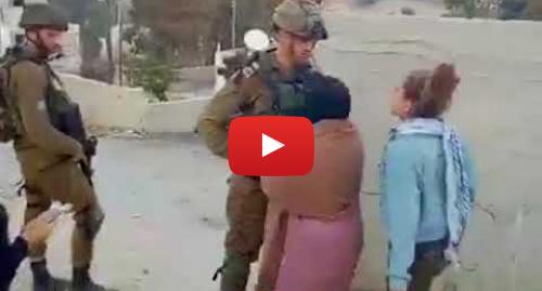 "Youtube пост, автор: IsraelFullTruth: ""Palestinian"" girls kick Israeli soldiers as provocation"
