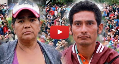 Publicación de Youtube por BBC News Mundo: Caravana de migrantes  ¿de qué huyen los hondureños que quieren llegar a Estados Unidos?