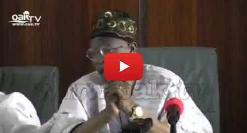 Youtube post by Lere Olayinka - AresaTV: It costs the Govt N3.5M to feed El-Zak Zakzaky in detention  - Lai Mohammed