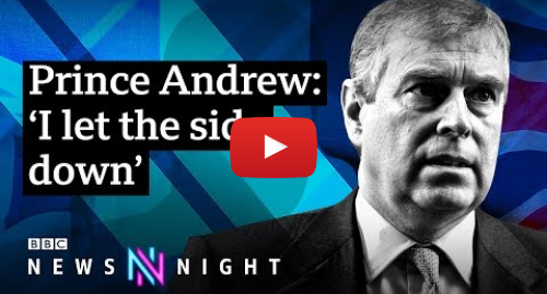 Youtube пост, автор: BBC Newsnight: Prince Andrew and Jeffrey Epstein FULL INTERVIEW - BBC Newsnight