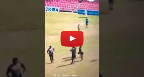 Youtube හි MDW Live! කළ පළකිරීම: Coach of St. Peter's College Sanath Martis captured on video assaulting a school boy #SriLanka