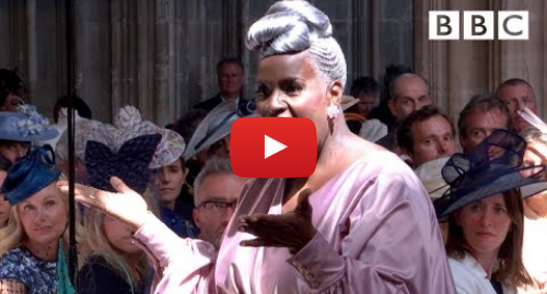 Youtube post by BBC: 'Stand by Me' performed by Karen Gibson and The Kingdom Choir - The Royal Wedding - BBC