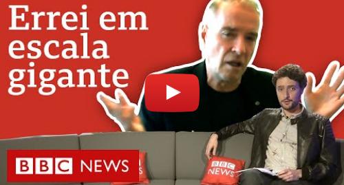 """YouTube post de BBC News Brasil: """"Zona Sul consome drogas e quem paga o pato são comunidades"""", diz Eike sobre lições de Bangu"""