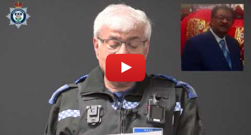 Youtube post by Leicestershire Police: Leicester murder  Video appeal in Gujarati