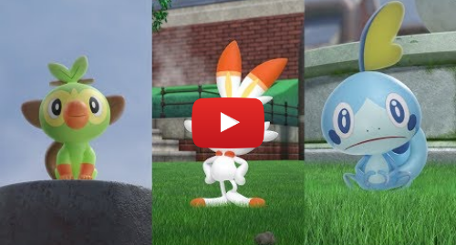 Youtube post by The Official Pokémon YouTube channel: Forge a Path to Greatness in Pokémon Sword and Pokémon Shield! ⚔ 🛡