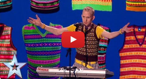 Youtube post by Britain's Got Talent: Has Robert White saved his most HILARIOUS routine for The Final? | The Final | BGT 2018