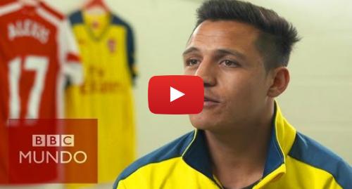 Publicación de Youtube por BBC News Mundo: Cómo Alexis Sánchez se convirtió en estrella del fútbol mundial