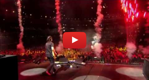 Youtube post by PAUL McCARTNEY: Live and Let Die - Good Evening New York City