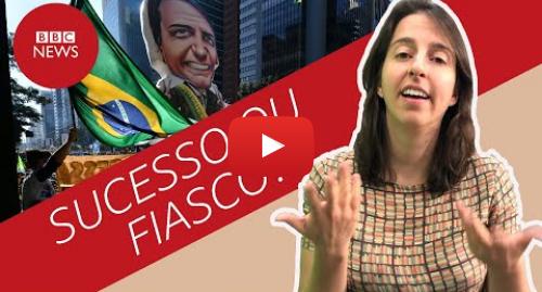 YouTube post de BBC News Brasil: Qual o impacto dos atos em apoio a Bolsonaro?