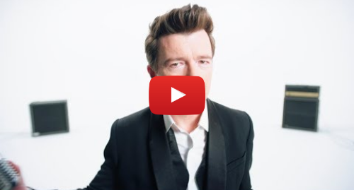 Youtube post by Official Rick Astley: Rick Astley - Beautiful Life (Official Video)