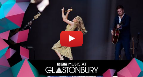 Kylie is most-watched Glastonbury moment