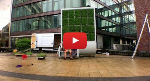 Publicación de Youtube por BBC News Mundo: El invento alemán para absorber la polución del aire en las ciudades