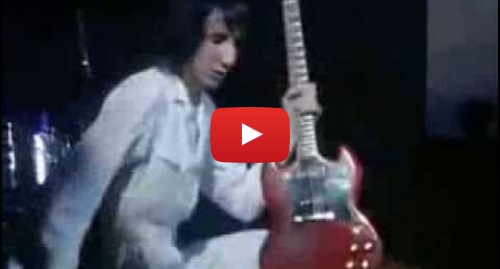 Youtube пост, автор: RockIsDeadTheySay :'):')  The Who - My Generation [Live at Woodstock 1969]