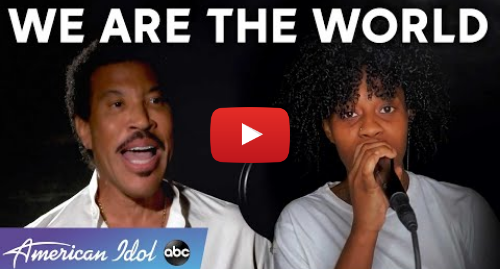 "Youtube post by American Idol: Lionel Richie And An All-Star Line-Up Perform ""We Are The World"" - American Idol 2020 Finale"