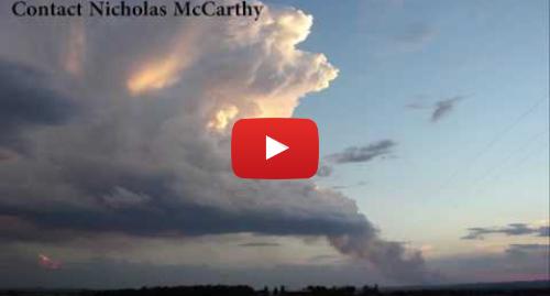 Youtube пост, автор: Nicholas McCarthy: Pyrocumulonimbus at the Sedgerly Fire, Queensland