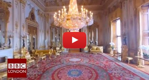 Youtube post by BBC London: 360 video  Buckingham Palace Tour