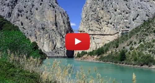 Publicación de Youtube por BBC News Mundo: Caminito del Rey en España  ¿el sendero más peligroso del mundo?