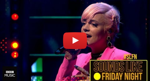 Youtube post by BBC Music: Lily Allen - The Fear (on Sounds Like Friday Night)