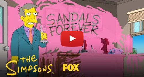 Youtube пост, автор: Animation on FOX: Students Vandalize Principal Skinner's Office | Season 30 Ep. 18 | THE SIMPSONS