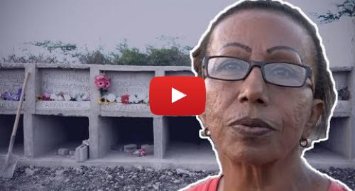 Publicación de Youtube por BBC News Mundo: Crisis en Venezuela  La mujer que entierra en Colombia a los venezolanos que mueren sin recursos